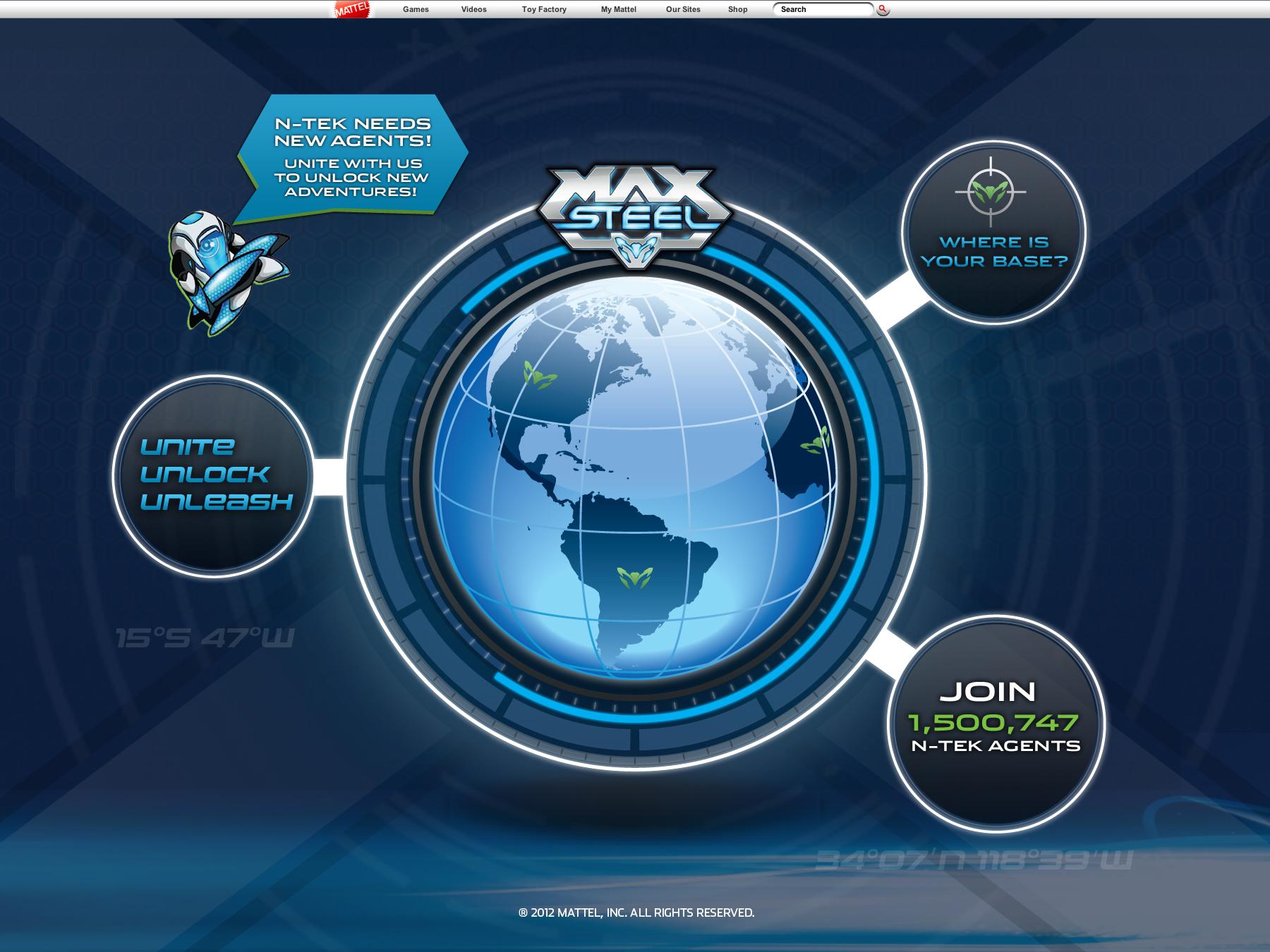 Mattel Max Steel