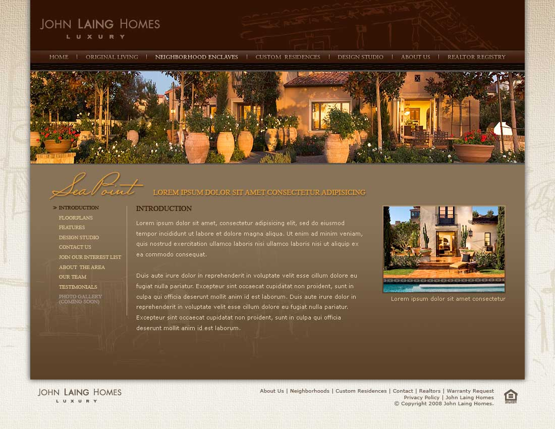 John Laing Homes - Neighborhood Enclaves