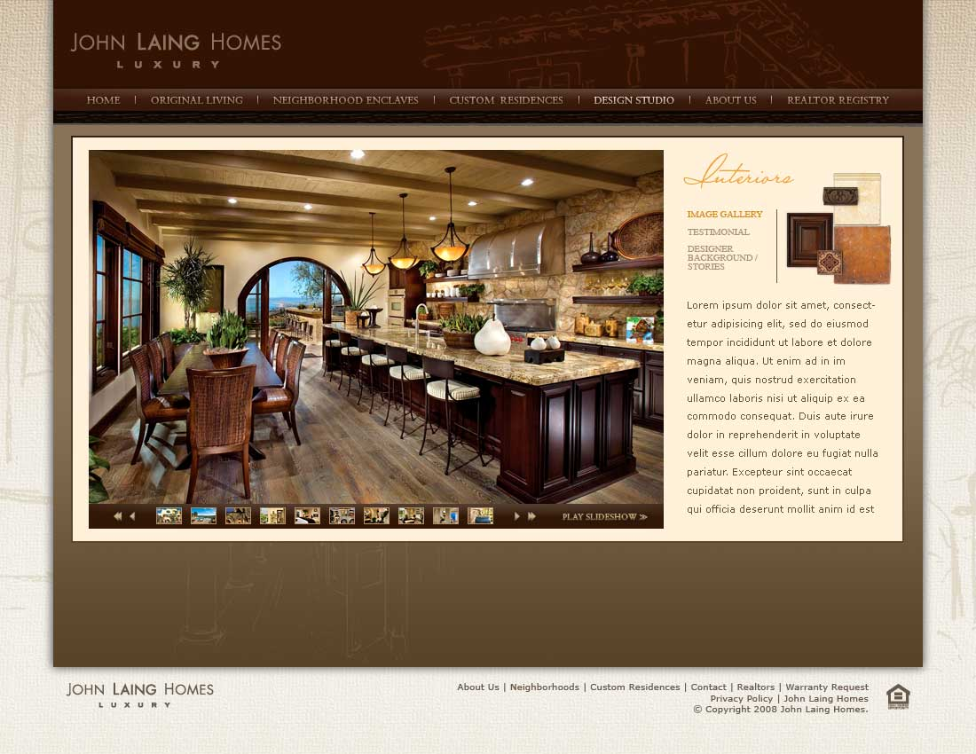 John Laing Homes - Design Studio