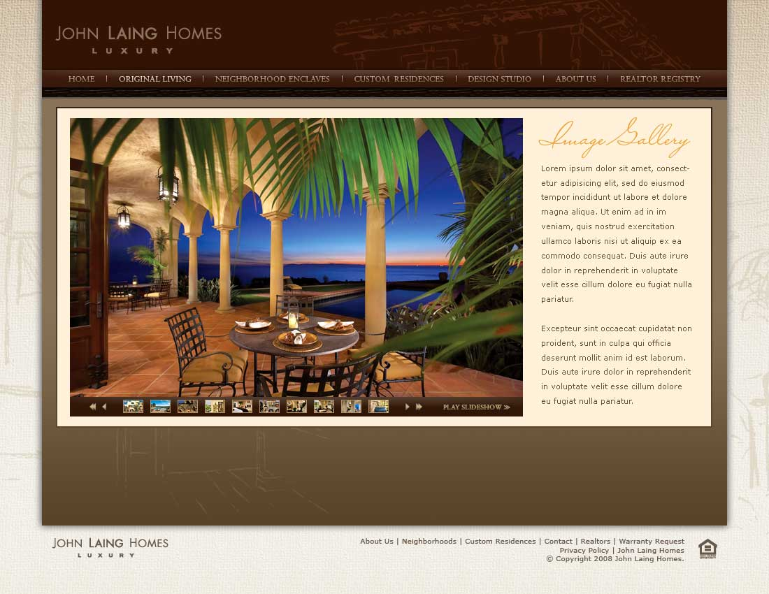 John Laing Homes - Original Living